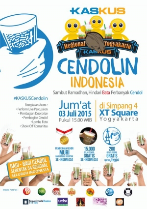 Kaskus Regional Yogyakarta | Cendolin Indonesia