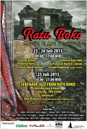 Ratu Boko Music and Art Festival