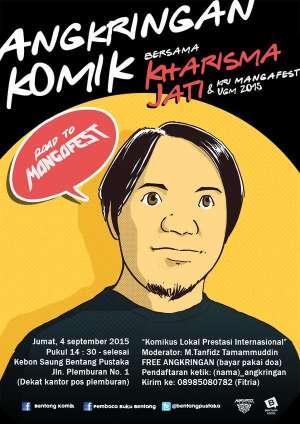 Road to Mangafest: Angkringan Komik Bersama Kharisma Jati