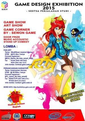 Pameran Karya Mahasiswa Game Design