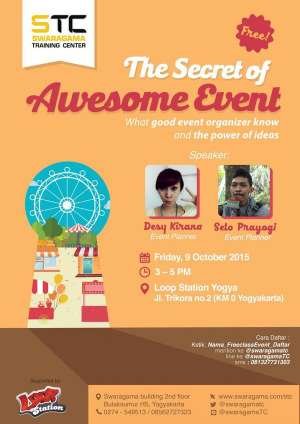 Swaragama Training Center Presents: The Secret of Awesome Event