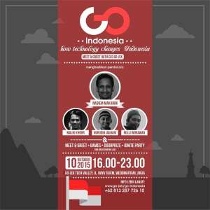 "Go Indonesia ""How Technology Change Indonesia"" Meet & Greet with CEO Go-Jek"