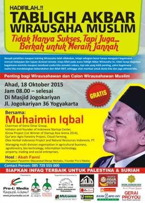Tabligh Akbar Wirausahawan Muslim