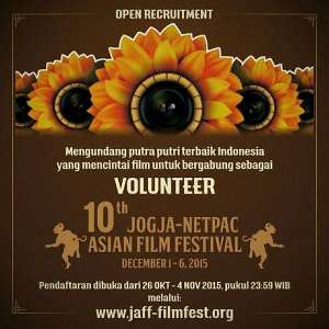 Open Recruitmen Volunteer JAFF