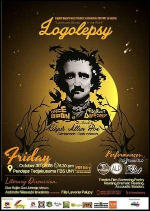 Logolepsy Tribute to Edgar Allan Poe