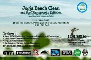 Seminar Foto Surfing dan Bersih Pantai