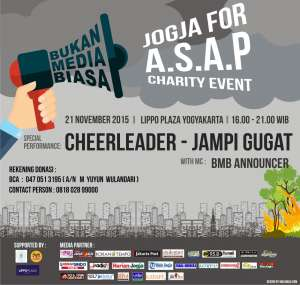 Jogja For A.S.A.P Charity Event