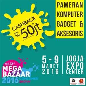 Pameran Mega Bazaar Consumer Show 5-9 Maret di JEC