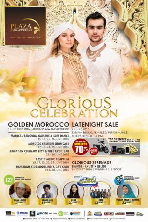 Plaza Ambarrukmo  Gelar Glorious Celebration: Golden Morroco