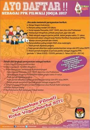 Panitia Pemilihan Kecamatan (PPK) Pilwali Jogja 2017