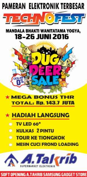 "Technofest ""DUG DEER SALE"" 2016"