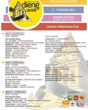 Festival Film Dieng 2016