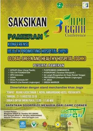 Pameran Konferensi Health Promoting Hospital