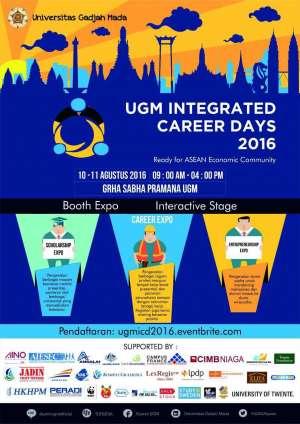 UGM Integrated Career Days 2016