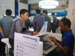 Mengintip Samsung Super Store di Jogjakarta