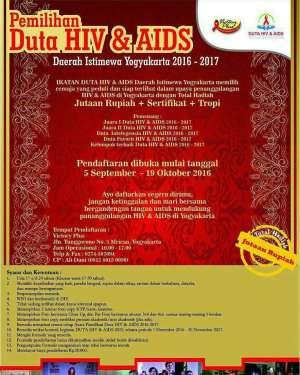 Pemilihan Duta HIV & AIDS DIY