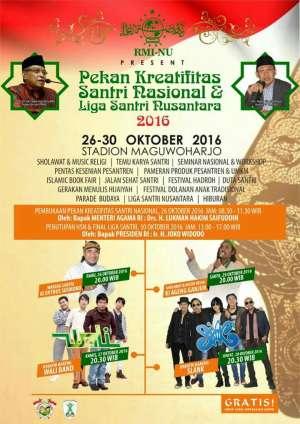 Pekan Kreativitas Santri Nasional & Liga Santri Nusantara