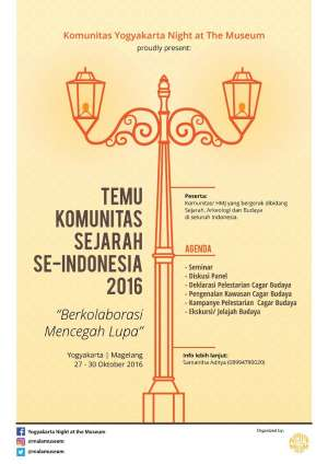 Temu Komunitas Sejarah se-Indonesia