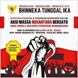 Aksi Massa Nusantara Bersatu