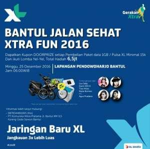 Bantul Jalan Sehat Xtra Fun 2016