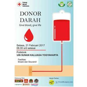 Donor Darah, Give Blood Give Life