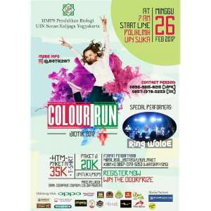Colour Run Biotik 2017