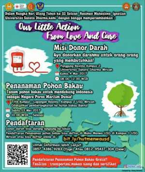 "Our Little Action ""Penanaman pohon Bakau"""