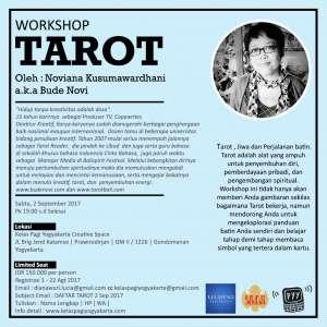 Workshop Tarot by Noviana Kusumawardhani