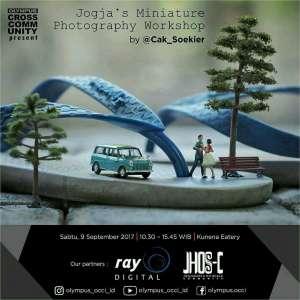 Jogja's Miniature Photography Workshop