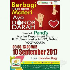 Donor Darah bersama Pand's