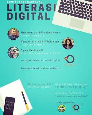Konferensi Nasional Literasi Digital bersama Nukman Luthfi