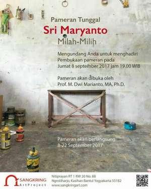 Pameran Tunggal Sri Maryanto