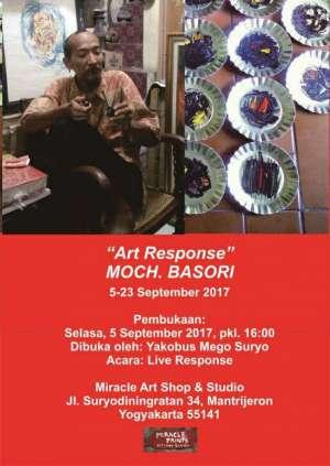 Pameran Art Response Moch. Basori