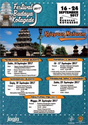 Festival Budaya Kotagede 2017