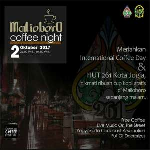 Malioboro Coffee Night 2017