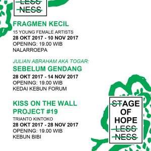 Biennale Schedule for the parallel events 28 okt-28 nov 2017