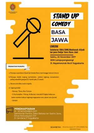 Stand Up Comedy Basa Jawa