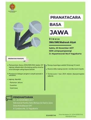 Lomba Pranatacara Basa Jawa