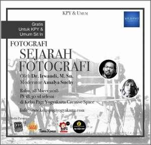 Sejarah Fotografi di KPY