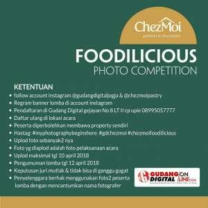 Lomba Foto : Foodilicious di Chezmoi
