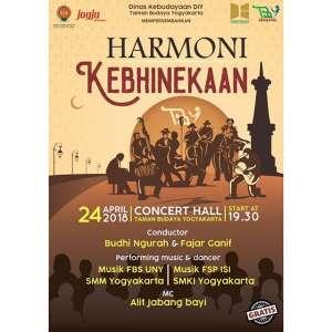 "Konser Musik ""Harmoni Kebhinekaan"""