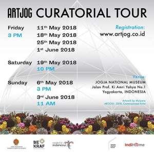 "ARTJOG ""ENLIGHTENMENT"" CURATORIAL TOUR"