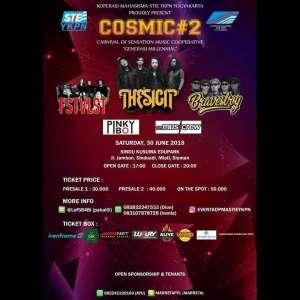 Cosmic#2 bersama The Sigit, FSTVLST dan Bravesboy
