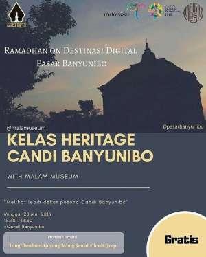 Kelas Heritage Candi Banyunibo