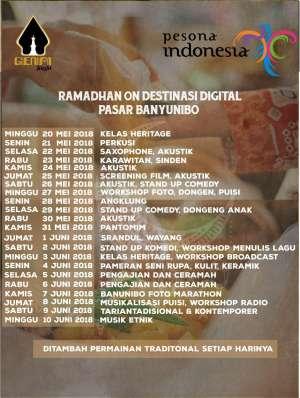 Ramadhan on Destinasi Digital Pasar Banyunibo