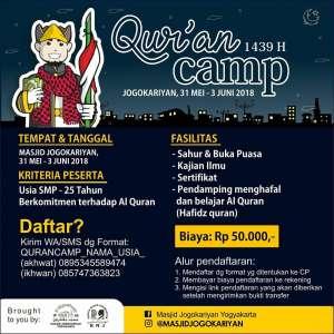 Qur'an Camp Jogokaryan