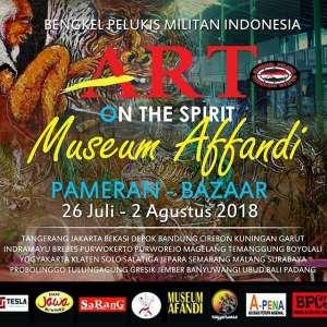 Art On The Spirit Museum Affandi
