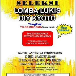 Lomba Lukis DIY KYOTO