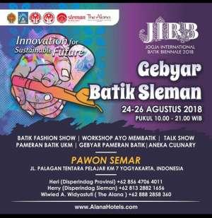JIBB menggelar Gebyar Batik Sleman 2018