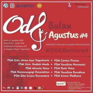 Ode Bulan Agustus Bentara Budaya Yogyakarta